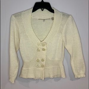 Anthropologie Knitted & Knotted Cardigan SMALL